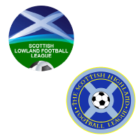 Highland / Lowland Football Leagues Logo