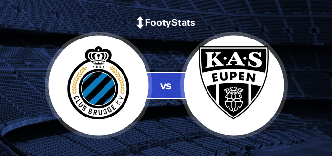 Eupen  Club Brugge Photo: Club Brugge Vs AS Eupen Head To Head Stats