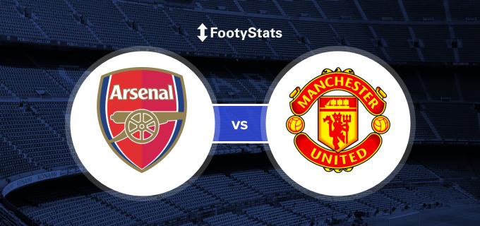 Arsenal Vs Manchester United Predictions H2h Footystats