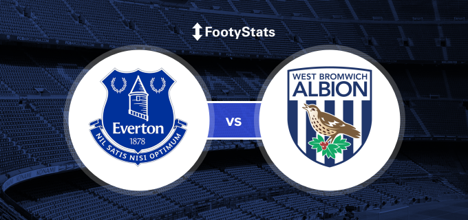 Everton Vs West Bromwich Albion Predictions H2h Footystats