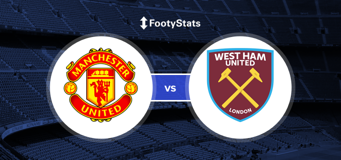 Manchester United Vs West Ham United Predictions H2h Footystats