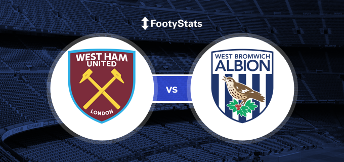 West Ham United Vs West Bromwich Albion Predictions H2h Footystats