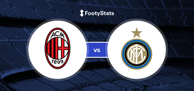 AC Milan vs Inter Milan Head to Head Stats | FootyStats