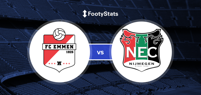 Emmen Vs Nec Head To Head Stats Footystats