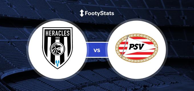 Heracles vs PSV Predictions & H2H | FootyStats