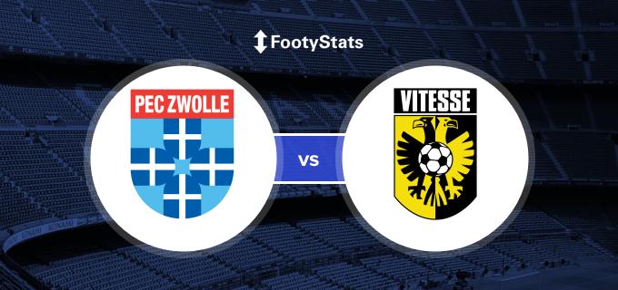 Pec Zwolle Vs Vitesse Predictions H2h Footystats
