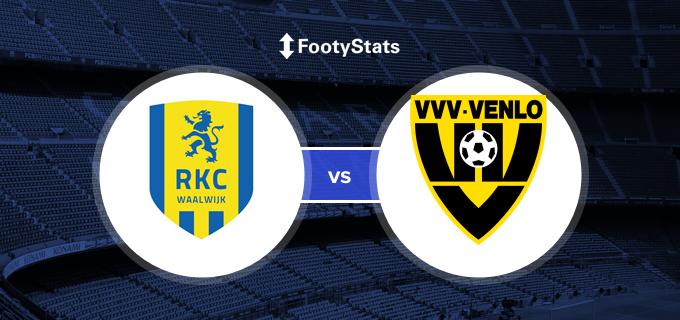 Rkc Waalwijk Vs Vvv Head To Head Stats Footystats