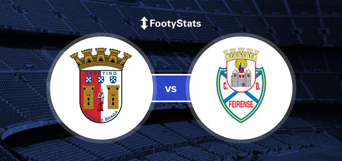 Sporting Braga vs CD Feirense Head to Head Stats | FootyStats