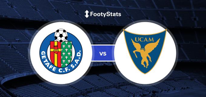 Getafe Cf Vs Ucam Murcia Cf Head To Head Stats Footystats