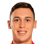Lucas Ocampos Stats and History.