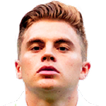 James Forrest Stats and History.