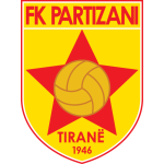 Card Stats for KF Partizani Tirana