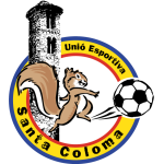 Tic Tapa UE Santa Coloma Badge