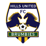 Hills Brumbies Badge