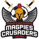 Mackay & Whitsundays Magpies Crusaders United FC Badge