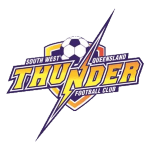 South West Queensland Thunder FC Under 20 Badge
