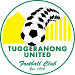 Tuggeranong United FC Under 20 Logo
