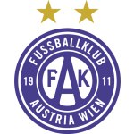 Card Stats for FK Austria Wien II