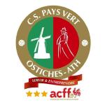 CS Pays Vert Ostiches-Ath Badge