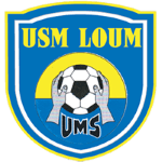 Union des Mouvements Sportifs de Loum Badge