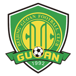 Card Stats for Beijing Guoan FC