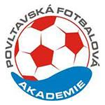 Povltavská fotbalová akademie logo