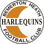 Bemerton Heath Harlequins FC Badge