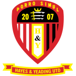 Hayes & Yeading United - Southern League Premier South Estatísticas