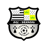 AGL Drapeau Fougères Football Badge