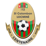 LA Saint-Colomban Locminé Badge