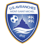 US Avranches Mont-Saint-Michel Badge