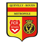 US Quevilly Rouen Metropole Badge
