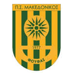Card Stats for Makedonikos Foufas FC