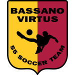 Bassano Virtus 55 Soccer Team Badge