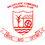Card Stats for Ballyclare Comrades FC
