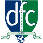 Downpatrick Ladies FC Logo