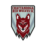 Chattanooga Red Wolves SC Logo